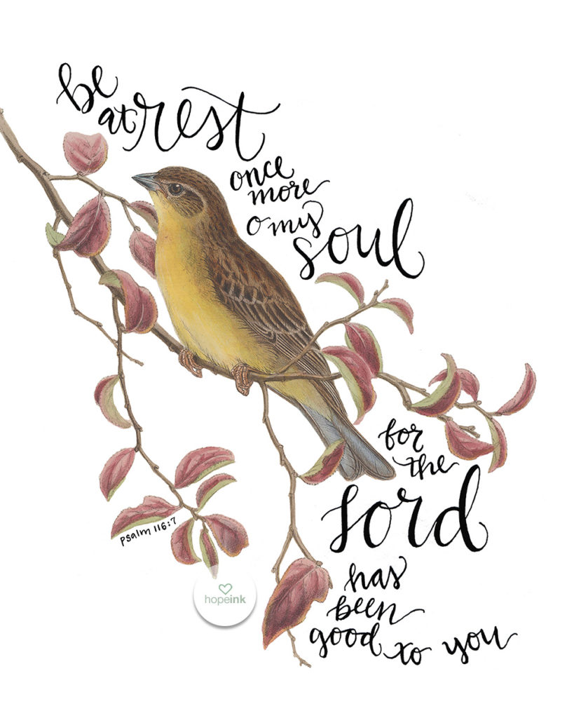 Be At Rest O My Soul